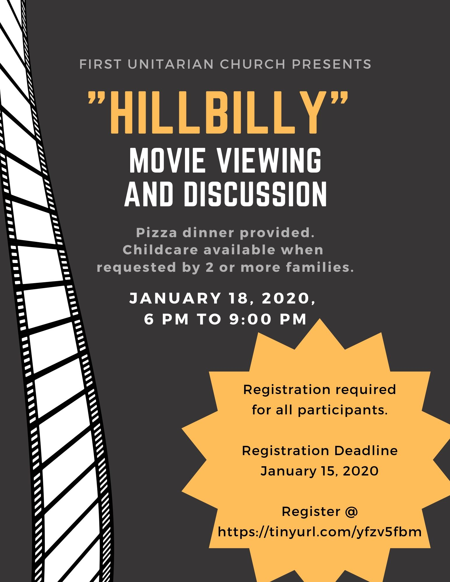Hillbilly Movie Viewing and Discussion